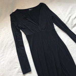 ASOS Plunge Midi Dress